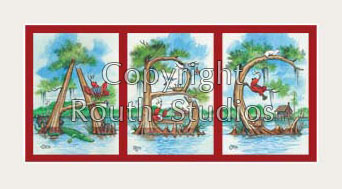 red cypress letter mat