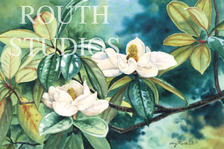 "Craig Routh, Artist & Illustrator - ""Magnolias"""