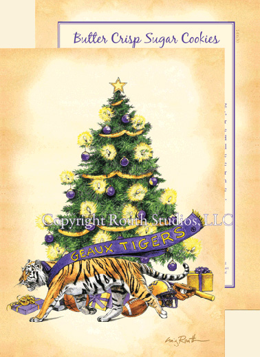 Geaux LSU Christmas