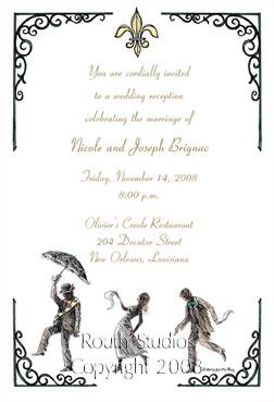 2nd Line Dance Invitation, New Orleans Second Line Dance to the Brass Band Beat