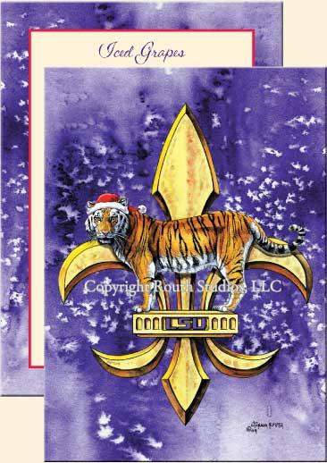 lsu christmas cards